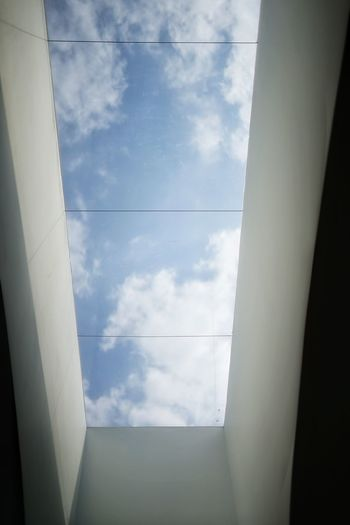 Cloud - Sky Clouds Sky No People No Person Day Buildings & Sky Buildings Architecture Window Sky Cloud - Sky Spiral Staircase
