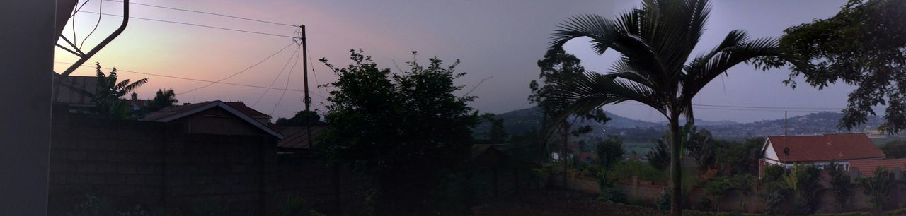 Evening Kampala Uganda  Sunset