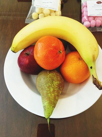 Bowl of fruit at Whittlebury Hall hotel in Northamptonshire Fruit Bowl Banana Orange Apple Fruits Hotel Whittleburypark Whittlebury Hall Northants Northamptonshire