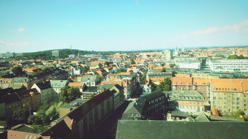 Aalborg From The Top Denmark Architechture Aalborg Man Made Architecture Atmosphere Building
