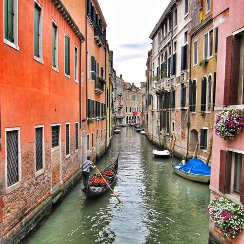 Venice scene Venice Italy Travel Architecture Buildings Gondola