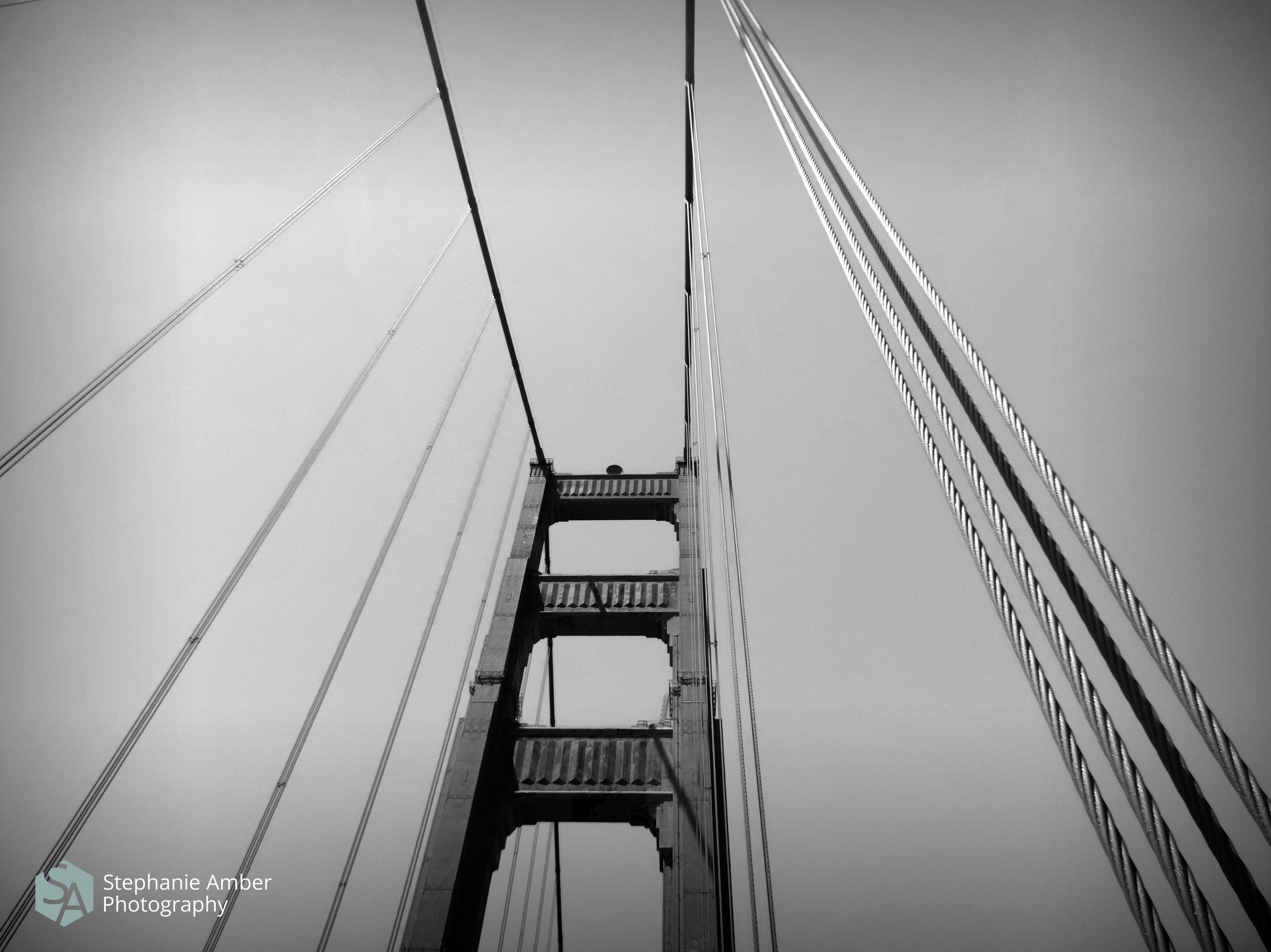 bridge, built structure, architecture, engineering, suspension bridge, bridge - man made structure, sky, connection, low angle view, transportation, cable, steel cable, nature, cable-stayed bridge, travel destinations, travel, tourism, city, skyscraper