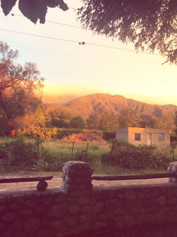 Córdoba Mountain Sunlight Beauty In Nature Sunset Nature Sky Argentina