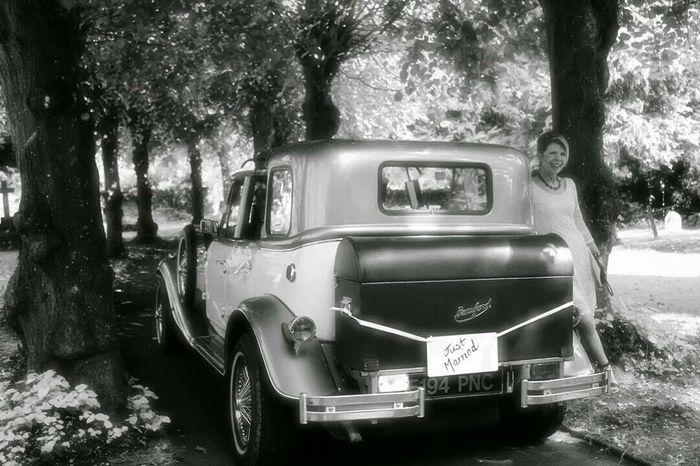 TwentySomething Wedding Wedding Car Car Weddings Around The World Black And White Photography Popular Photos Blackandwhite Photo_of_the_day EyeEm Gallery