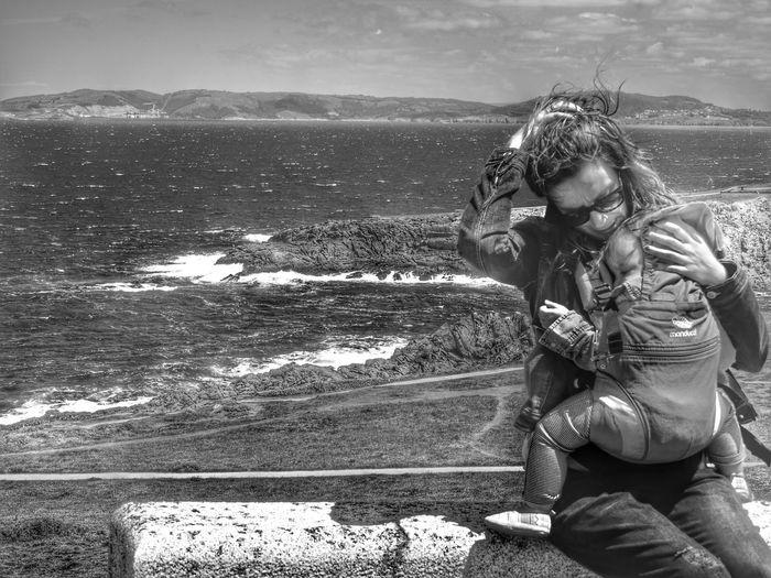 A Coruña Pekeña Fierecilla Lia Mytwogirls Black And White Photography B&w Blackandwhite Shades Of Grey Sea siempre