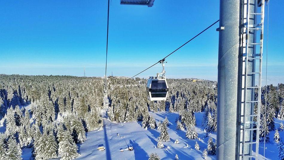 Bursa / Turkey Uludag Cable Car Snowscene Ski Snowfall Snowlife Snowboarding Snowstreet Winterscenes