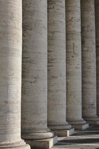 Colonnades Of Historical Building