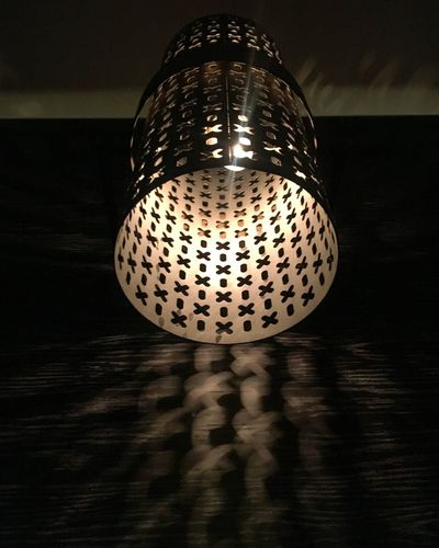 Shadows and patterns Indoors  Illuminated Table No People Still Life Close-up Single Object Pattern Lighting Equipment Light Design Shadow Shape