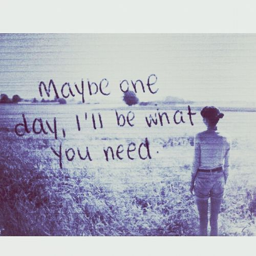 Maybe ?! :) You Hurt Me