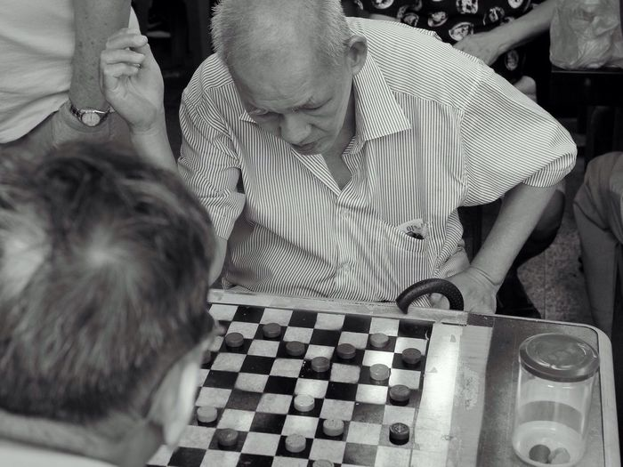 Singapore Play The Game Game Old People Streetphotography