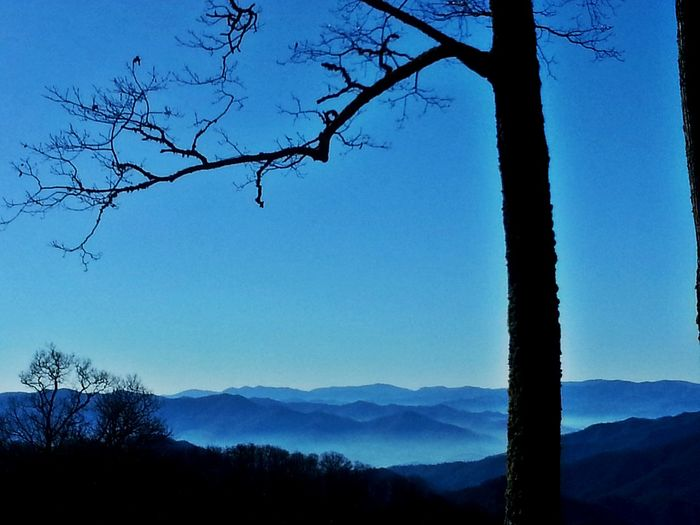 love the bluish color of the Smoky mountains understand why the native Cherokee call this land of the blue smoke Mountains And Sky Connect With Nature Scenic Route Scenicview