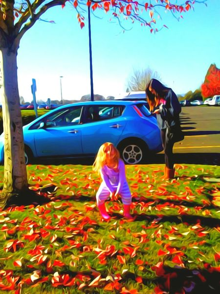 Child Two People Childhood Girls Togetherness Pasttimes Playing With Leaves Fall Fun Fall Leaves Inspiration Grandchild Babygirl ♥ Seriously Beautiful Telling Stories Differtenly Blayklee The Week On EyeEem Streamzoofamily EyeEm Master ClassPursuit Of Happiness Labor Day Madness!!! Excitement Delights Of Life Happiness Razzle Dazzle Come Out And Play