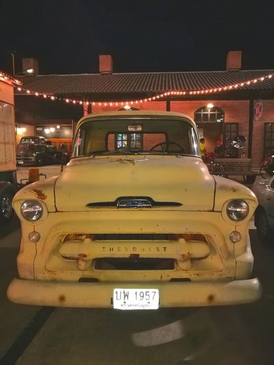 Car Yellow Vintage 60's Style.... 70's Style Vintage Cars Mode Of Transport Transportation Land Vehicle