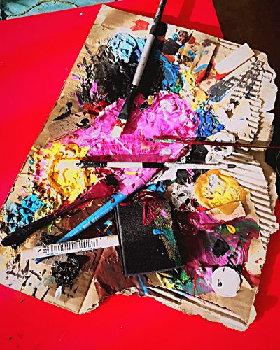 Paint Painting Colors Colorful Brush Taking Photos ♡