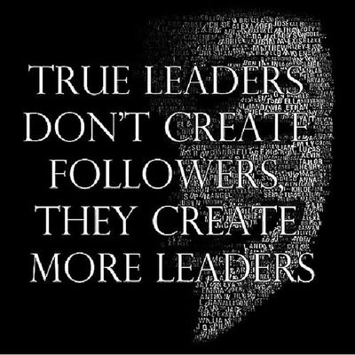 ? Leaders Followers ThisAintTwitter Enoughsaid