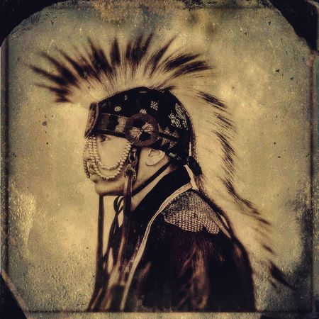 Portrait Of America Native American Indian Portrait Tintype The Portraitist