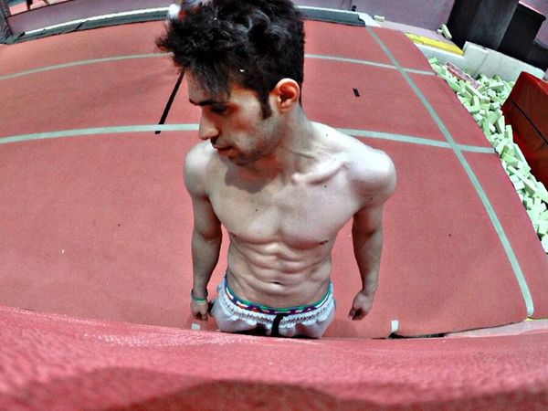 The Portraitist - 2014 EyeEm Awards Model Hellow World Today's Hot Look in my Gym ? ^_^