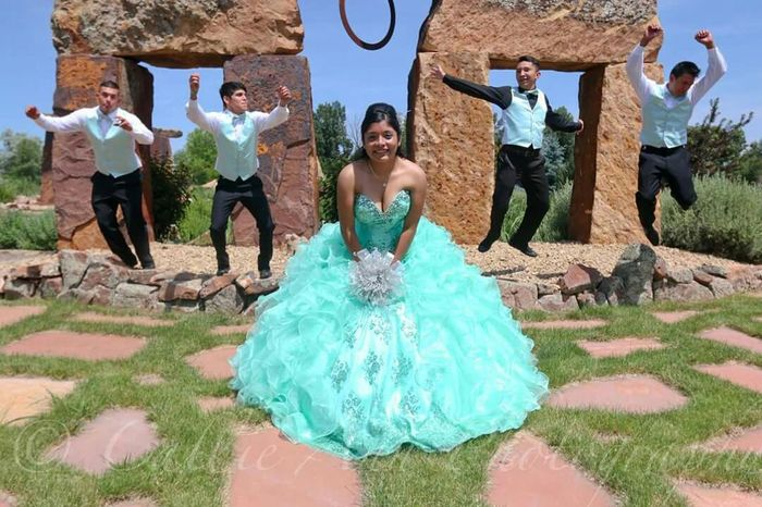 The Quinceañera celebrates her 15th birthday with her four Chancellors on june 20th, 2015 in Fortcollins Colorado OpenEdit EyeEm Best Shots EyeEmBestPics