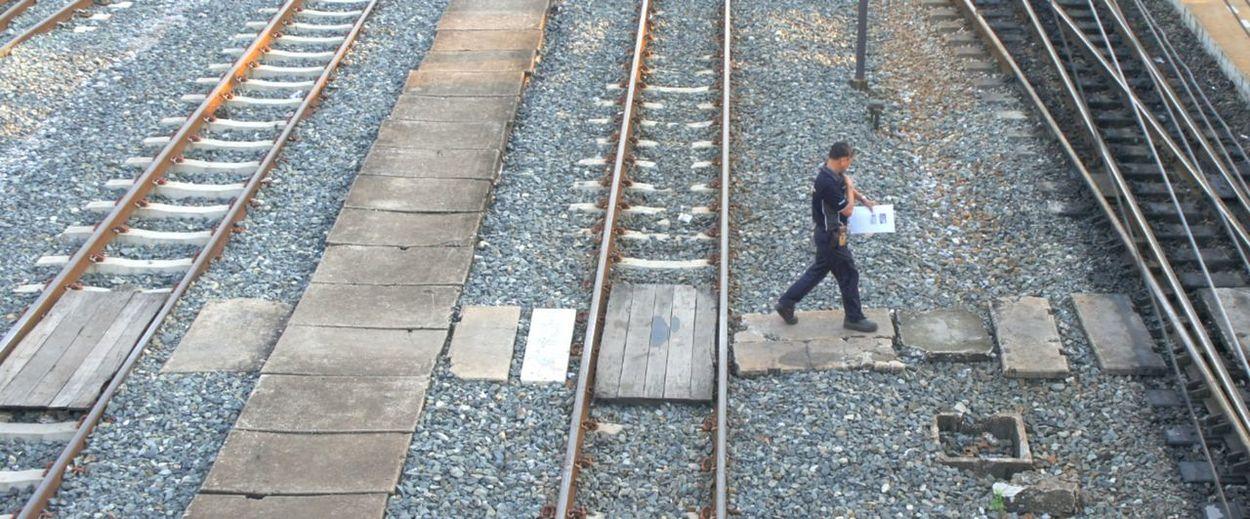 on the railways
