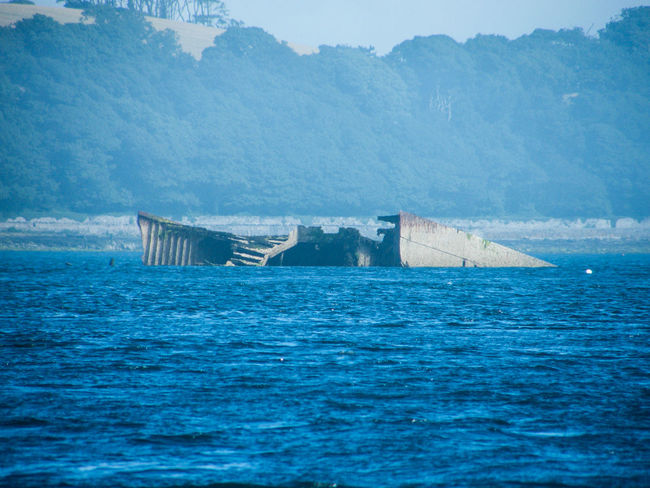 Architecture Ards Peninsula Blue Day Nature Nautical Vessel No People Outdoors Scenics Sea Ship Wreck Sky Strangford Lough Tranquil Scene Tranquility Water
