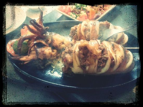 lechon-stuffed squid...