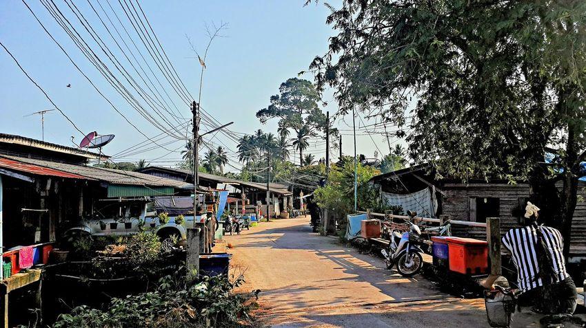 In Pak Nam Lang Suan Day Lang Suan Narrow Outdoors Pak Nam Lang Suan Thailand The Way Forward Walkway