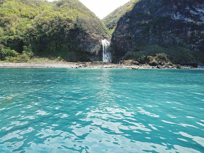 Waterfall Sea