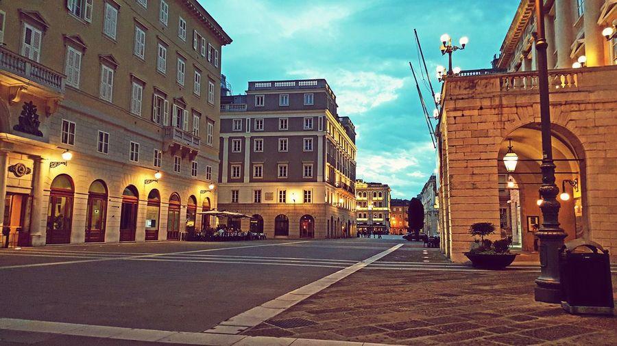 Trieste TriesteSocial Piazzaverdi Evening Light First Eyeem Photo Cities At Night