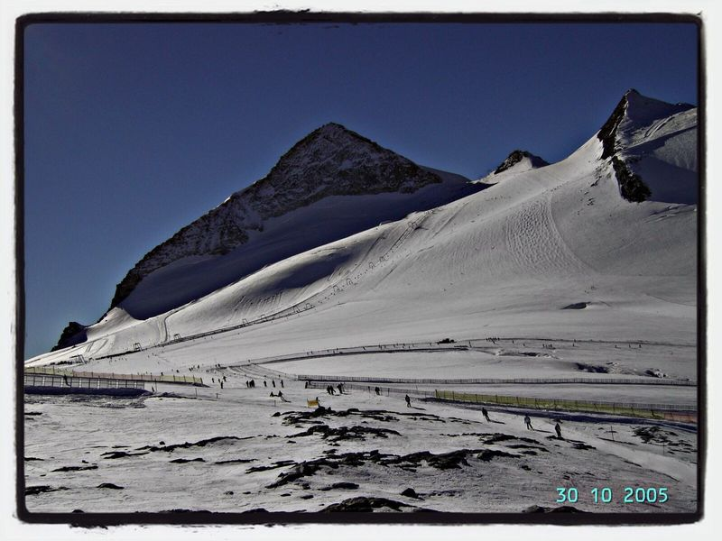 Olperer Beautiful Day Mountains Zillertal