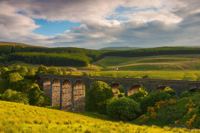 Dent Head Viaduct Great Britain Landscape_Collection National Park Nature Pasture Transportation Travel Architecture Beauty In Nature Bridge - Man Made Structure Built Structure Cloud - Sky Connection Dent Head Viaduct Landscape Mountain Nature No People Sunset Train Viaduct Yorkshire Dales
