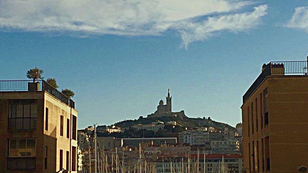 My Year My View Marseille Marseillerebelle Architecture Building Exterior Built Structure Sky Travel Destinations No People City Cloud - Sky Outdoors Day EyeEm Best Shots EyeEm Nature Lover EyeEmMagazine TheWeekOnEyeEM