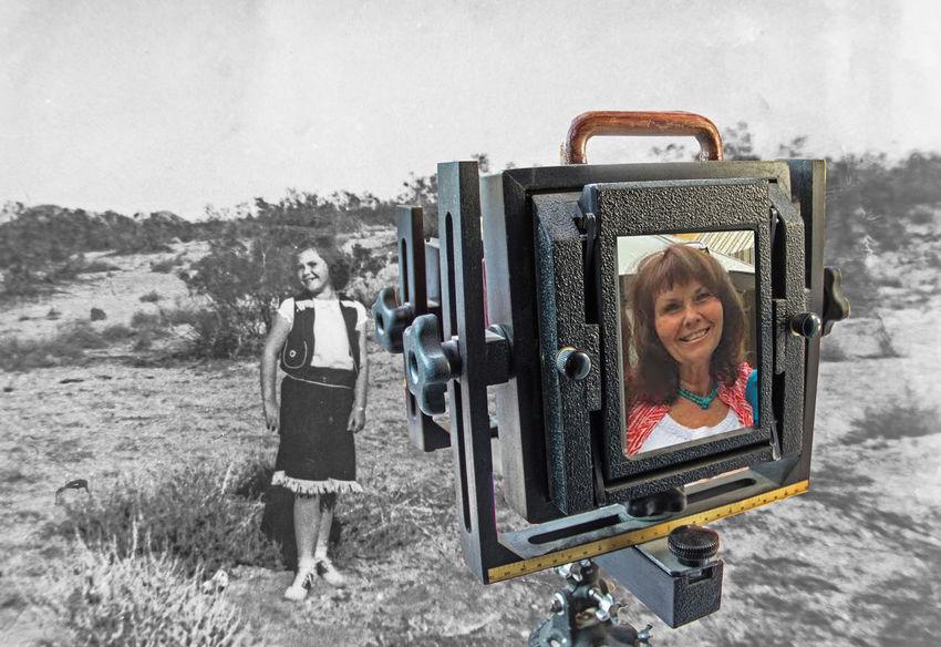 Time machine Taking Photos Young To Old old camera Large Format Californiagirl Memory Lane