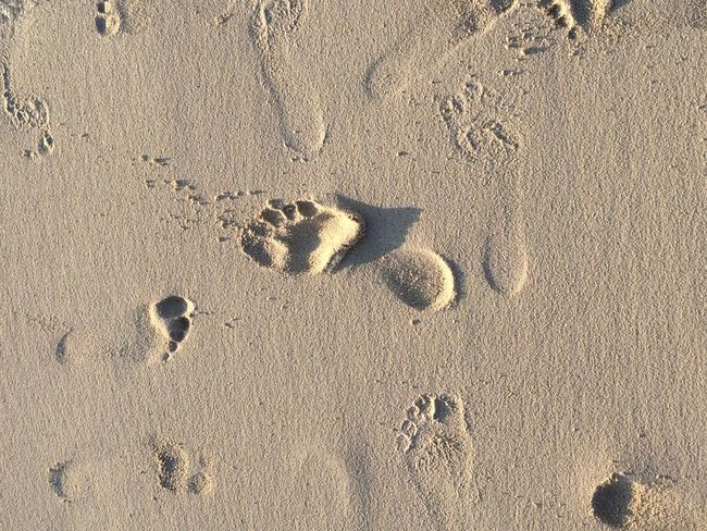 I was here! First Eyeem Photo My Year My View FootPrint Footprints In The Sand Human Body Part Humam Foot Sea And Sand Writing On The Sand