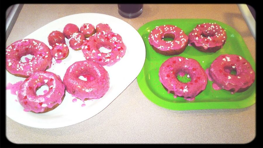 Donuts the kids & I made :)