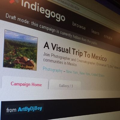 @indiegogo Fundraising campaign coming in a few days. Stay tuned. Mexico2014