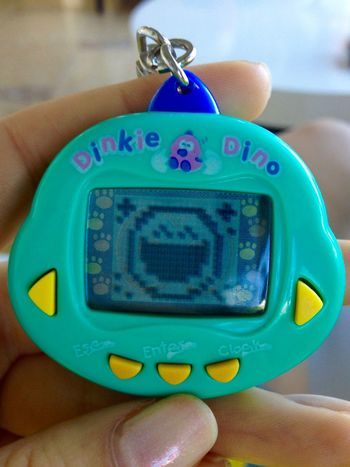Did you love it?) 90s Childhood Close-up Digital Fun Game Human Finger Mobile Play Playing Tamagotchi The Past In My Hand Holding