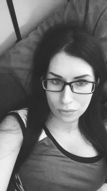 Naughty Girl  My Nerd Glasses Selfie Time Bored Lazy Day Miltonkeynes Polish Girl Chillin'