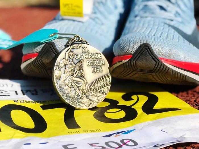 Marathon Medal Seoul Running Athlete Halfmarathon Finisher