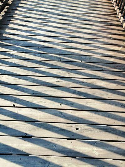 Full frame shot of metal footpath