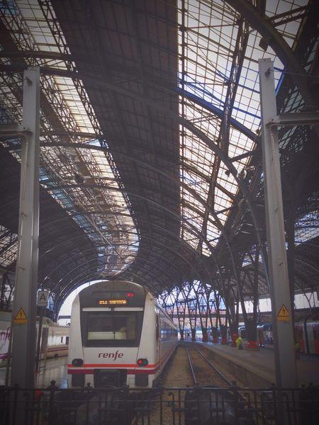 Última parada i cap a Reus!! Train Renfe Barcelona