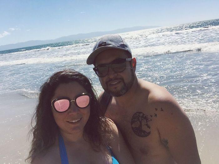 Beach Happiness Inlove Couple