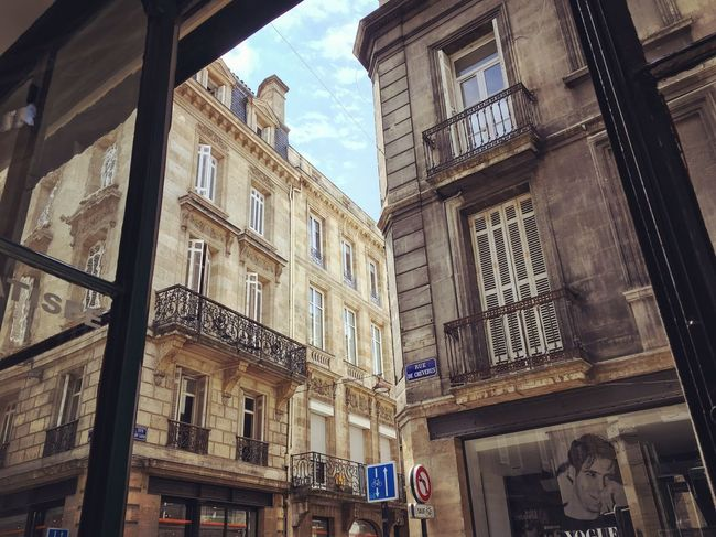 Bistrot Bordeaux Bistrot Architecture Window Building Exterior Low Angle View Built Structure Day Outdoors