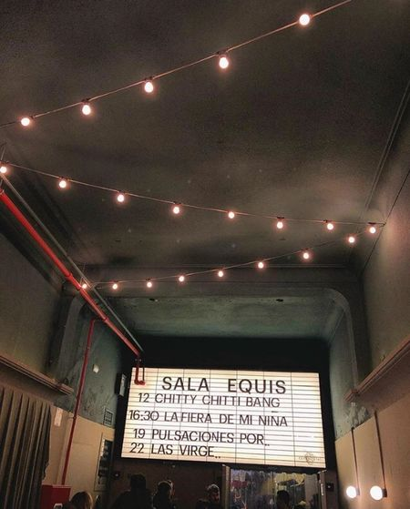 #Sala X #Lugares Con Encanto #Detodounpoco Text Illuminated Lighting Equipment Western Script Sign