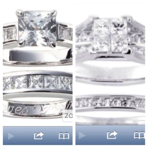 Idk Which Rings For My Baby!!! I Love Both! Yall Tell Me Which I Pick 1st Or 2nd???