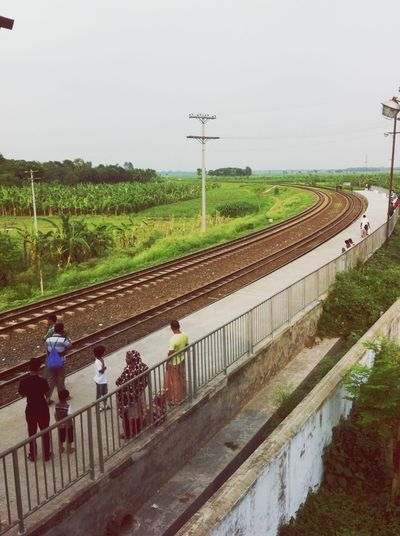 Bangladesh OpenEdit Train Traveling View Road The EyeEm Facebook Cover Challenge