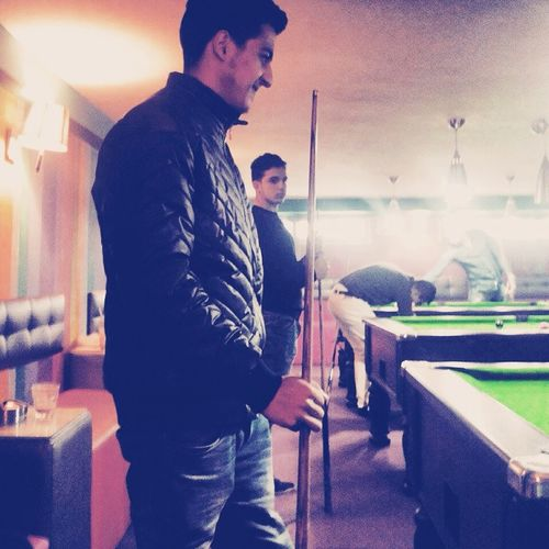Playing Pool Posey Oklm👌😘 Music Friends Night Out \m/