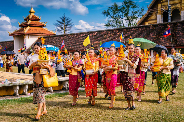 Showcase: January Buon That Luang - Vientiane, Laos Journey Good Times