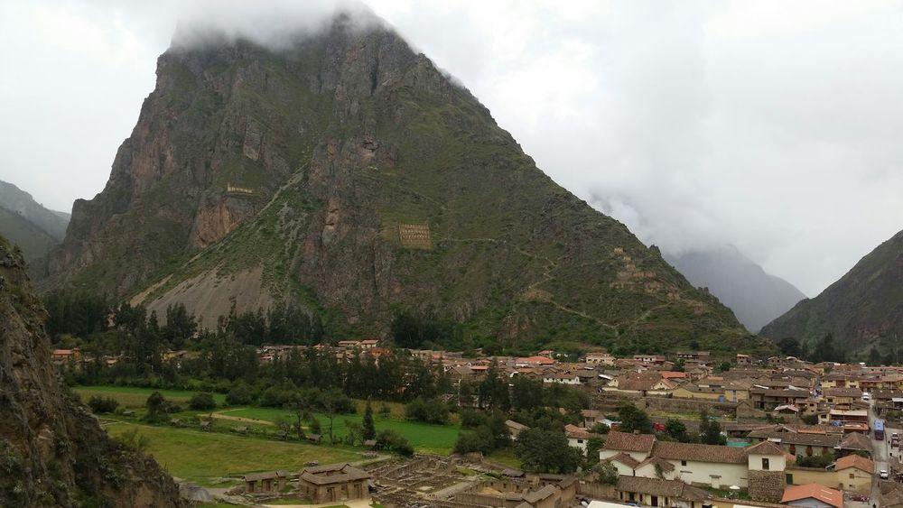 Ollantaytambo - Peru Arqueology Traveling Inka valio la pena la escalada jaja