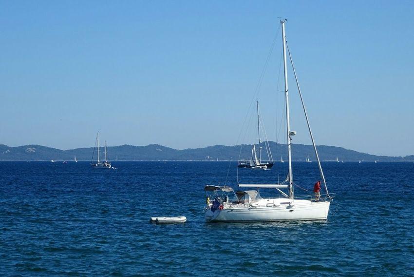 Sea Water Bateau ❤️ Sky Voiles Et Voiliers Mer Plaisance Clear Sky Blue