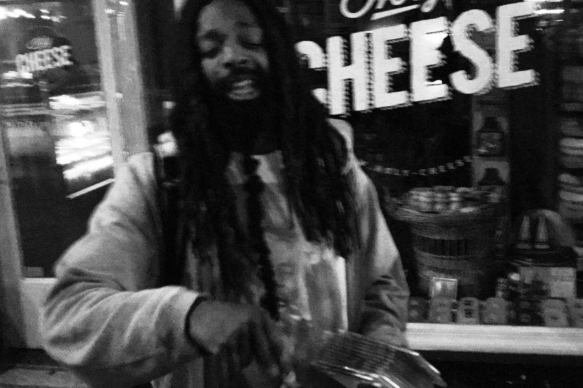HipHop Rapping Singing Black Blackandwhite Night Outdoors People Rap Rapper Street